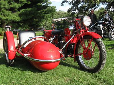 Wisconsin Moto Guzzi rally