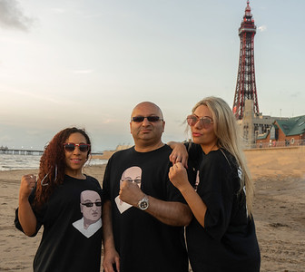 Pete and the angels go to Blackpool