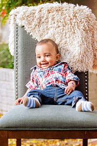 Aparna + Vinodh Family Portraits