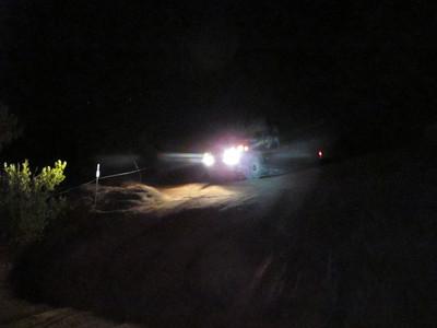 Moab-Fins at Night