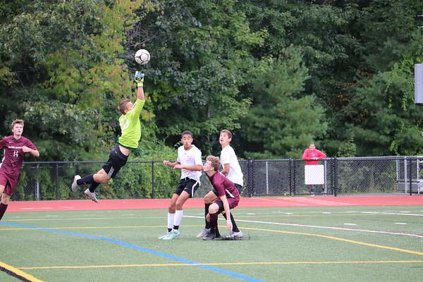 2019_09_10 GMHS Varsity soccer vs Avon scrimmage