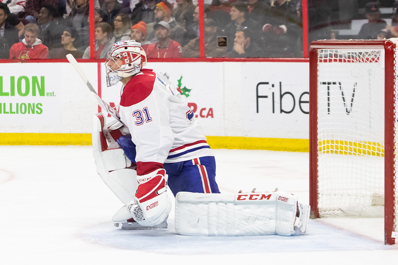 NHL 2018: Canadiens vs Senators  DEC 06