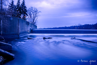 Blue Hour On The Fox River