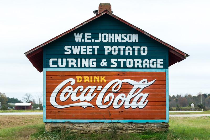 GA, Roopville - Coca-Cola Wall Sign 07