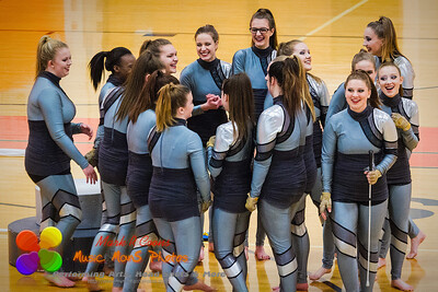 Round 2 - NCHS Images Winterguard performance 2016