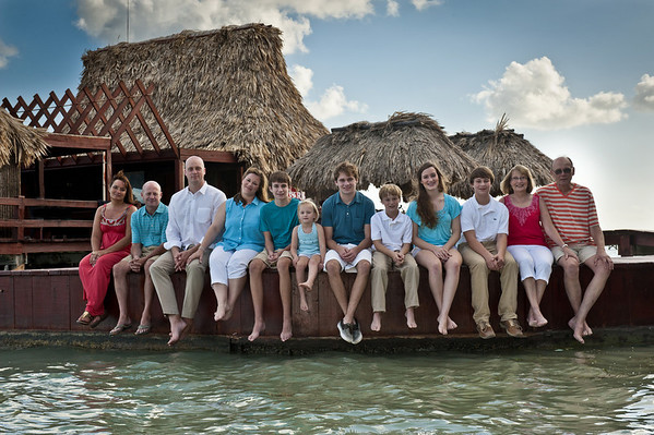 Matthias Family Photos 24th December 2012 - Belize