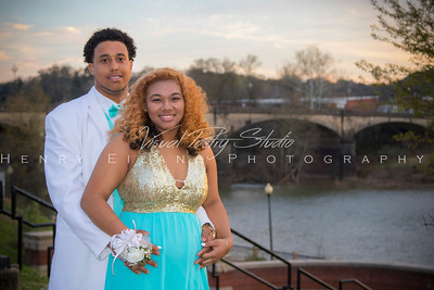 John Jackson & Najia Williams 2015 Shaw High School Prom Shoot