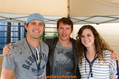 2013-08-08 Mix100 - James Blunt - Meet n Greet