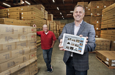 Seattle based AmpTab's software and mobile device app helps furniture distributors like A-America in Tukwila, Washington with maximizing sales