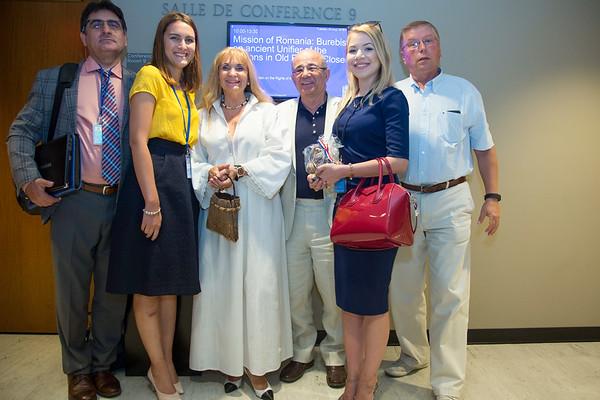 The XVII International Congress of Dacology UN, New York - August 23, 2016