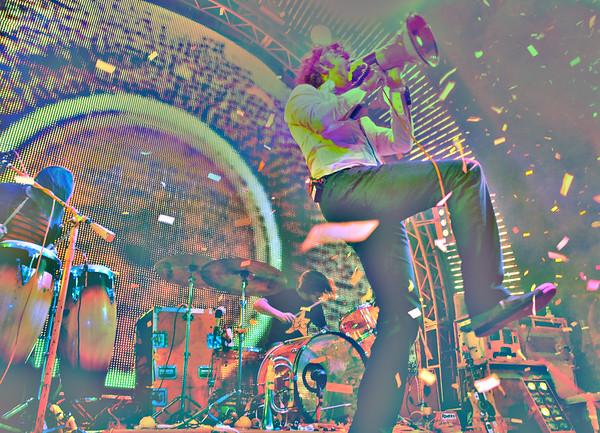 Wayne Coyne, The Flaming Lips, New Years Freakout 2011