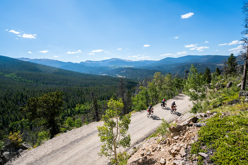 Cyclists take part in the 2015 Steamboat Rallye Ride
