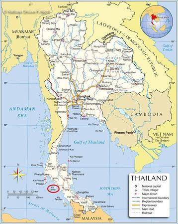 Thailand Xmas 2012