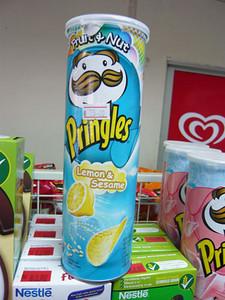 Lemon & Sesame flavored Pringles from Thailand | Courtesy of Roger Wade http://priceoftravel.com