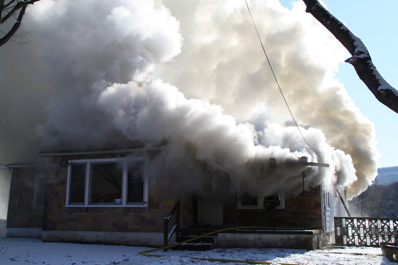 House Fire, Summer Valley Road, New Ringgold, West Penn, 2-9-2012 (13).JPG