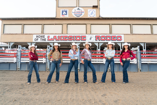 2022 Miss Rodeo Lakeside Contestants