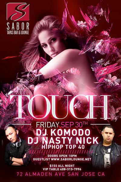 Touch @ Sabor Tapas Bar & Lounge 9.30.11