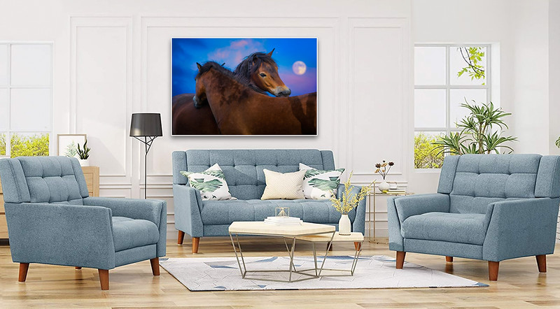 Living Room Fine Art Print Decoration Examples