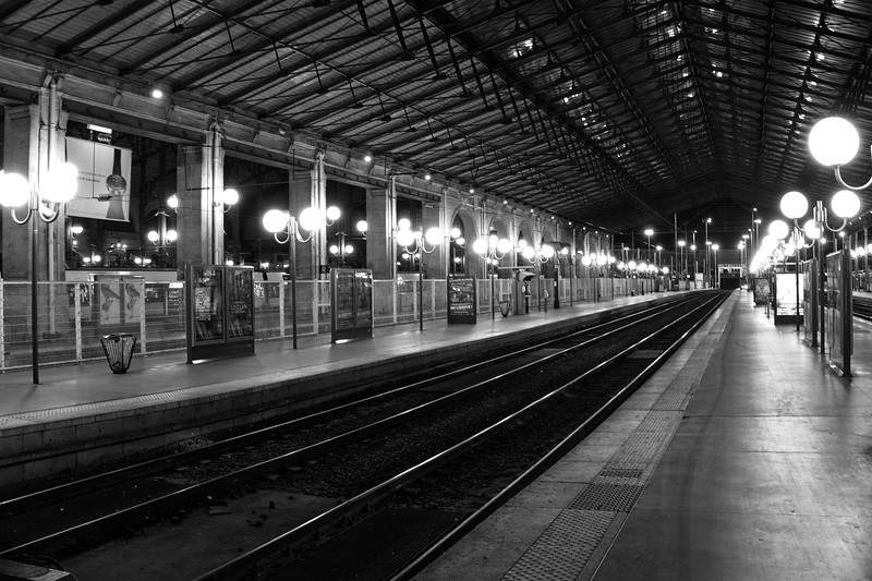 Early morning Gare du Nord
