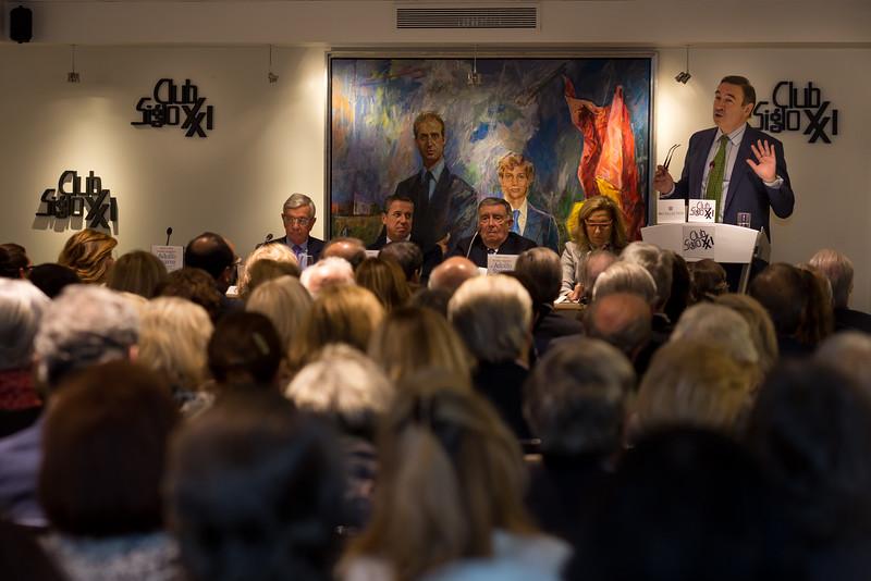 PRESENTACIÓN CLUB SIGLO XXI
