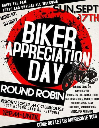 Biker Appreciation Day