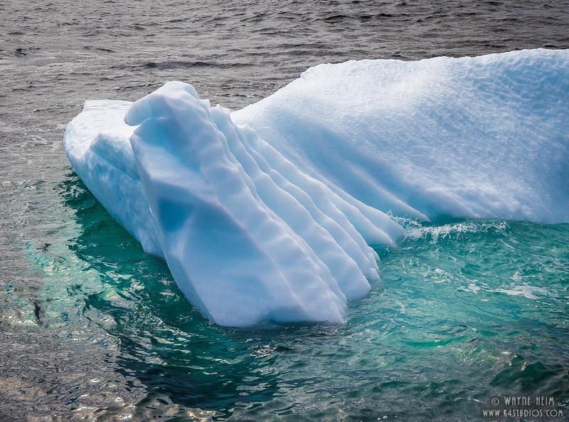 Ice Ridges   Photography by Wayne Heim
