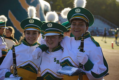 2019 SRVHS first game Aug 23 Marching Band