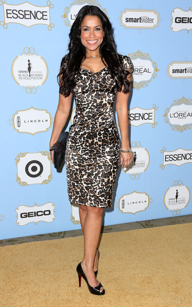 . Producer Tracey Edmonds attends the Sixth Annual ESSENCE Black Women In Hollywood Awards Luncheon at the Beverly Hills Hotel on February 21, 2013 in Beverly Hills, California.  (Photo by Frederick M. Brown/Getty Images)