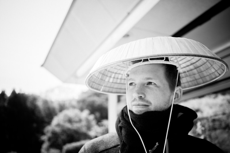 Photo of Alik Griffin Wearing A Japanese Hat