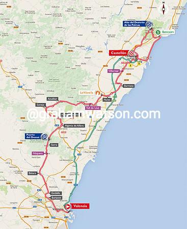 Vuelta a España stage 10: Valencia > Castellon, 147kms