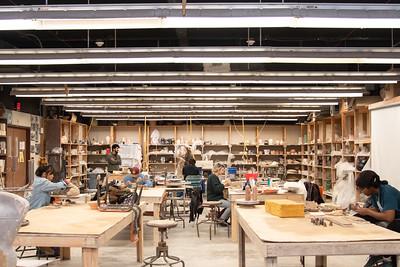Department of Art + Design Receives $25K Grant for New Kiln from Windgate Foundation