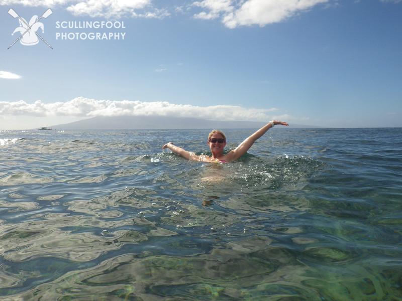 Alexis enjoying Maui