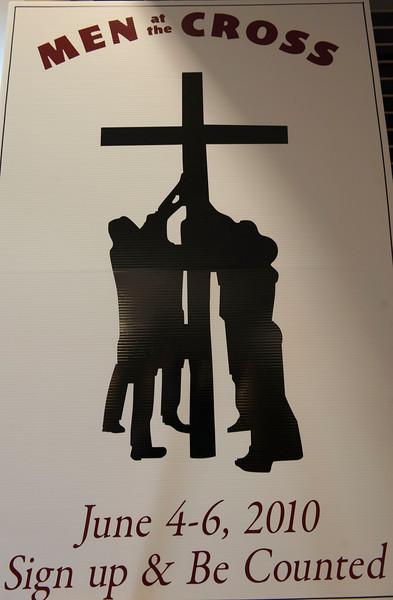 Men at the Cross-Gracepoint Gospel Men's Retreat at Warwick Conference Center  6/04-6/06/10