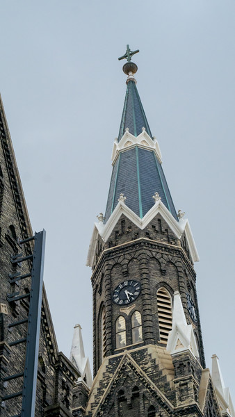 Detail After Fire, Trinity Lutheran Church, Milwaukee