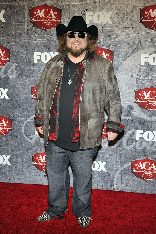 . Singer Colt Ford arrives at the American Country Awards on Monday, Dec. 10, 2012, in Las Vegas. (Photo by Jeff Bottari/Invision/AP)