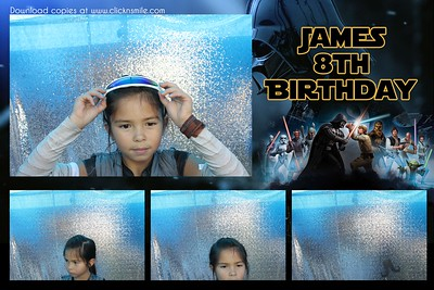 James 8th Birthday