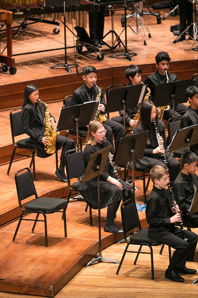 3. Oak Valley Middle School Concert Band