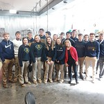 senior high art field trip to stacey pottery studio . 2.22.19