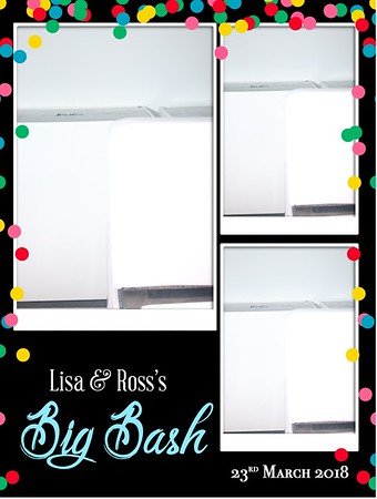 Ross & Lisa's Big Bash (Vanilla) 23.03.18