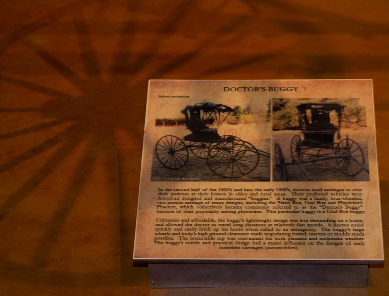 Some words about the doctor's buggy