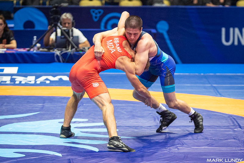 Cons. Round 2: Tyler Lee Graff (United States) over Mihai Esanu (Moldova)  •  TF 13-2 - 2019 World Championships