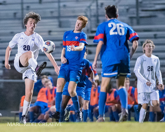 Broughton varsity soccer vs Wake Forest. NCHSAA 4A East Regional first round. 3-0. November 1, 2017.