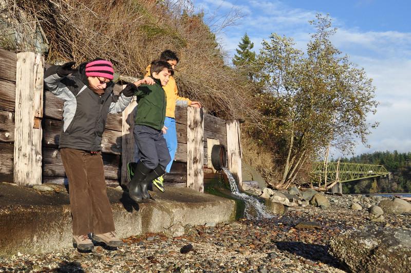 Suquamish, WA with Grandma Sheila