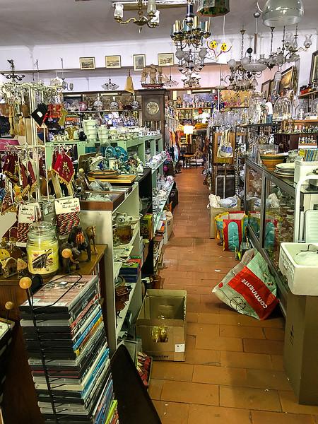 Antique shopping