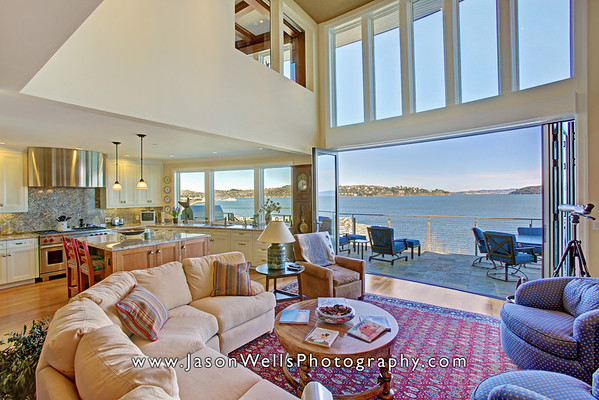 Sausalito Waterfront Home