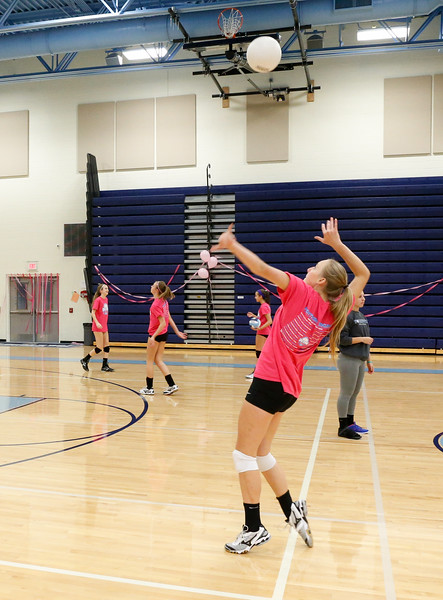 Yorktown Varsity Volleyball (06 Oct 2015)