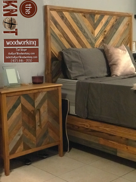 Chevron Nightstand & bed combo2.png