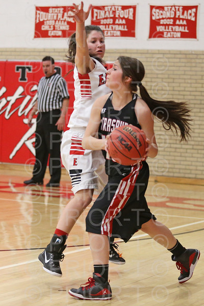 2/24/15 Eaton Girls Varsity Basketball vs Strasburg