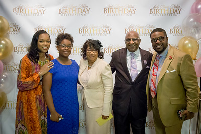 Lady Bessie Nelson's Birthday Celebration