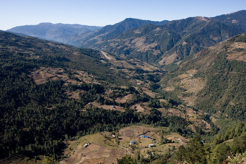 Scenics in Solu Khumbu. Nepal.